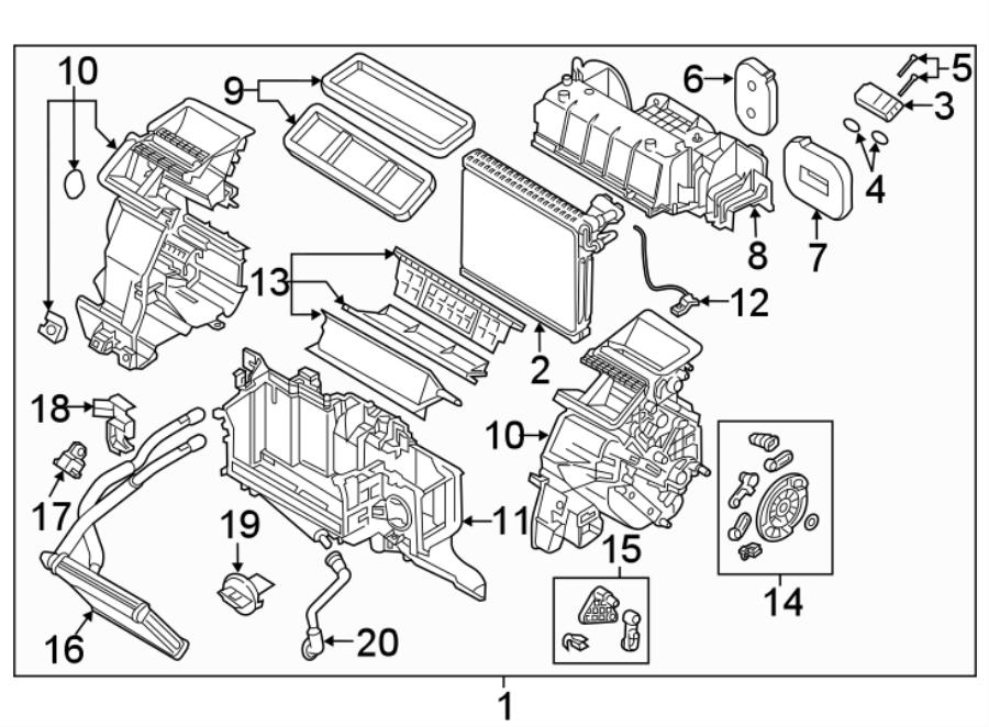 2016 mazda cx 3 sensor temperature evp evaporator. Black Bedroom Furniture Sets. Home Design Ideas