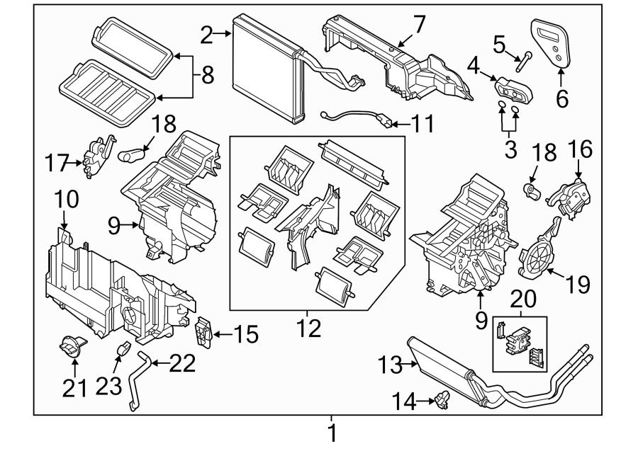 2013 mazda a c evaporator drain clamp auto heater air. Black Bedroom Furniture Sets. Home Design Ideas