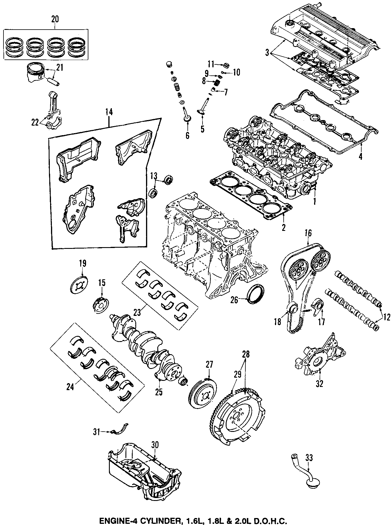 1996 Mazda Engine Connecting Rod - B6S711210E | charlotte ...
